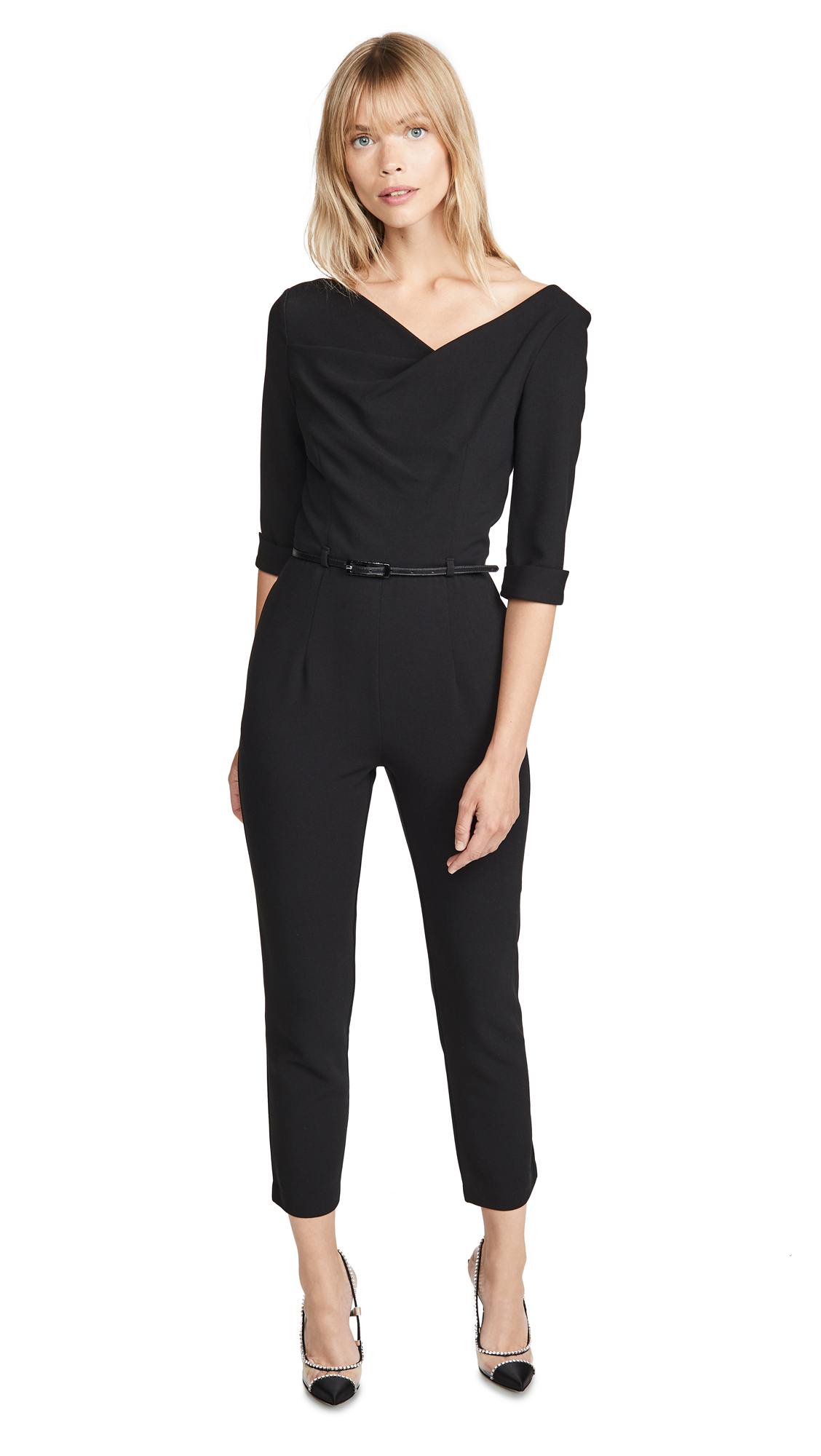 Buy Black Halo online - photo of Black Halo Jackie Jumpsuit