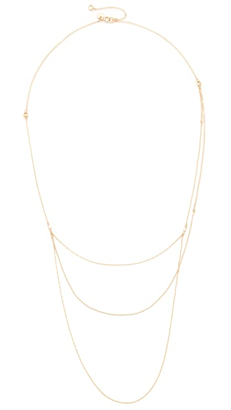 blanca monros gomez 14k Gold Marietta Necklace - Gold