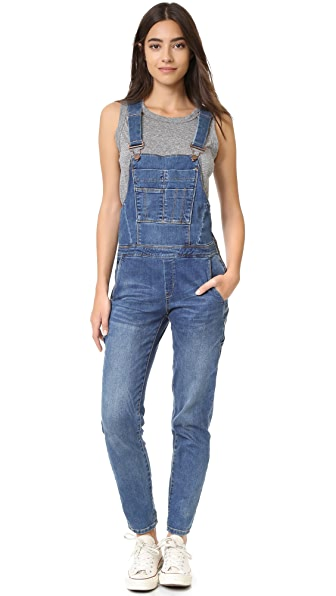 Blank Denim Denim Overalls - Roll In The Hay