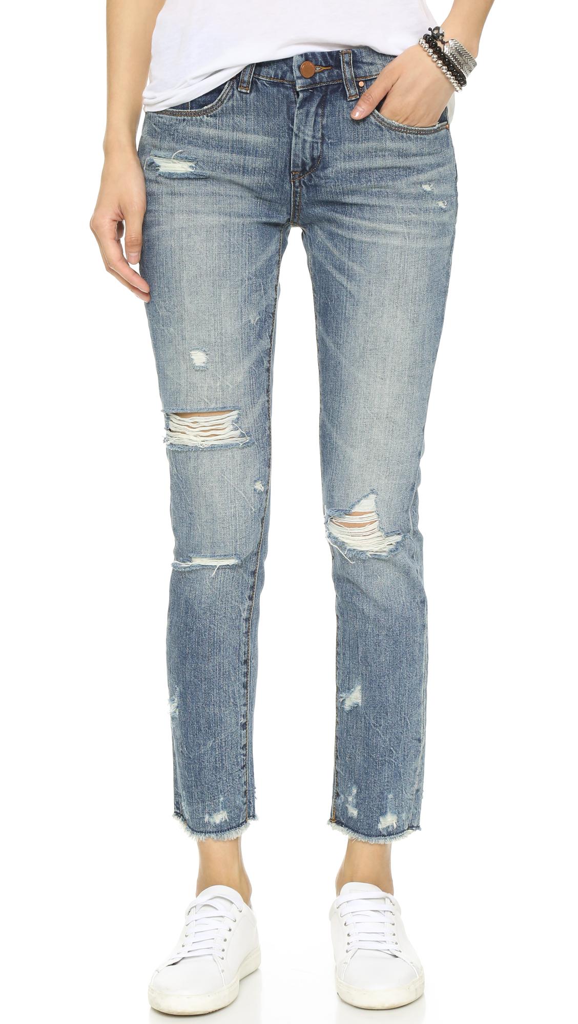 Blank Denim Distressed Skinny Jeans | SHOPBOP
