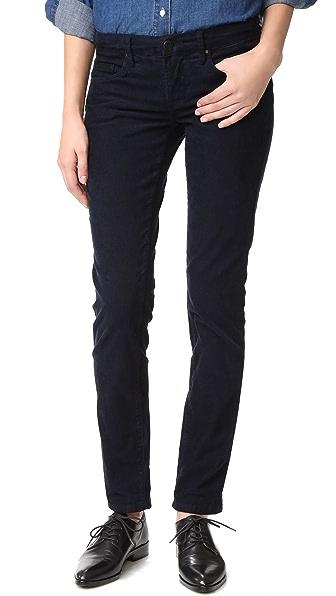 Blank Denim Corduroy Boyfriend Jeans - Oil Spill Blue