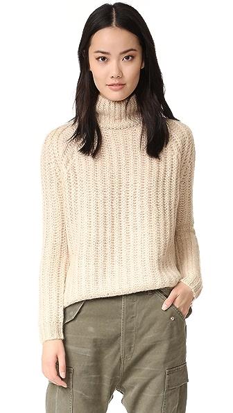 Blank Denim Turtleneck Sweater
