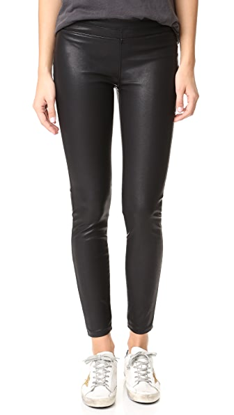 Blank Denim Vegan Pull On Leggings - Daddy Soda