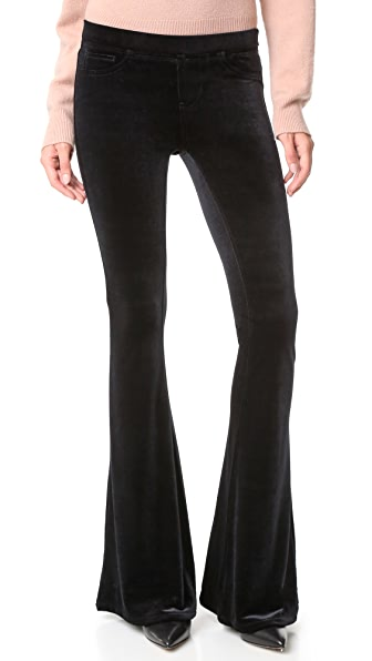 Blank Denim Velvet Flare Jeans | 15% off first app purchase with ...