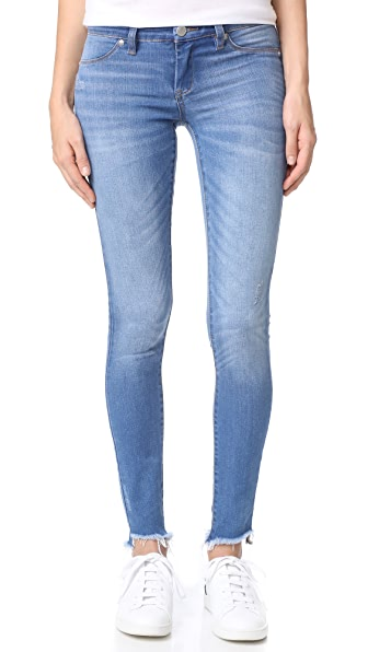 Blank Denim Raw Hem Skinny Jeans - One Life Stand