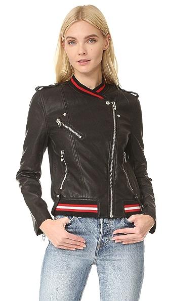 Blank Denim Frisky Business Moto Jacket - Frisky Business