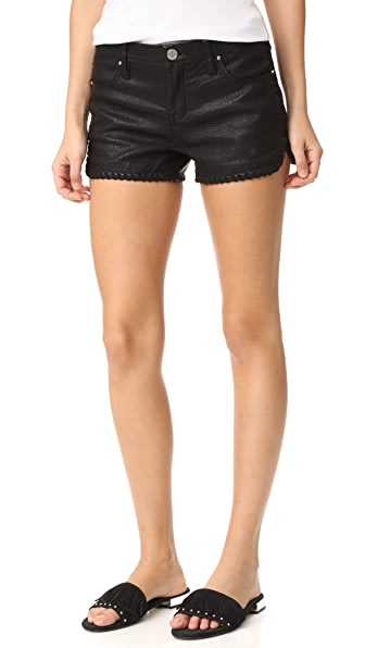 Blank Denim Lace Of Ex Cutoff Shorts - Lace of the Ex