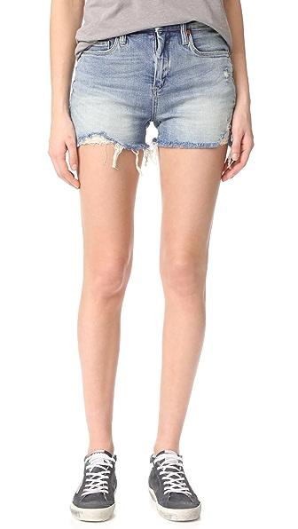 Blank Denim Min Mischief Cutoff Shorts - Mind Mischief