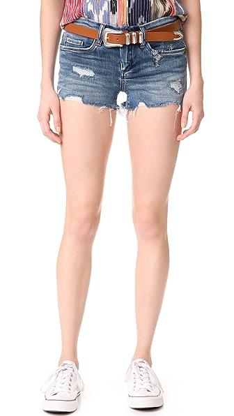 Blank Denim Box Fresh Cutoff Shorts - Box Fresh