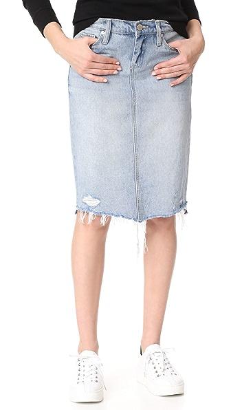 Blank Denim Big Reveal Skirt - Big Reveal
