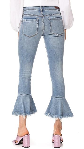 Blank Denim Trumpet Flare Jeans