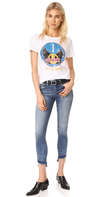Blank Denim Step Hem Skinny Jeans