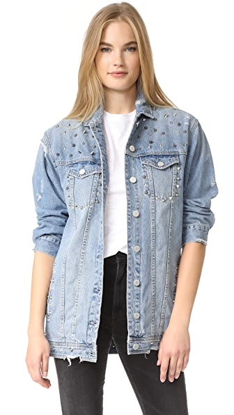 Blank Denim Denim Jacket - High Voltage