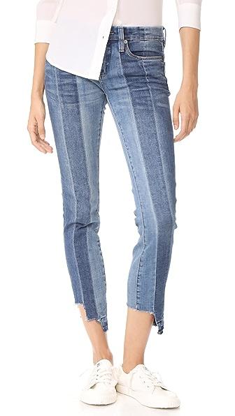 Blank Denim High & Low Jeans - Blue