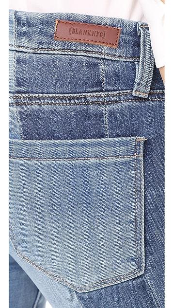 Blank Denim High & Low Jeans