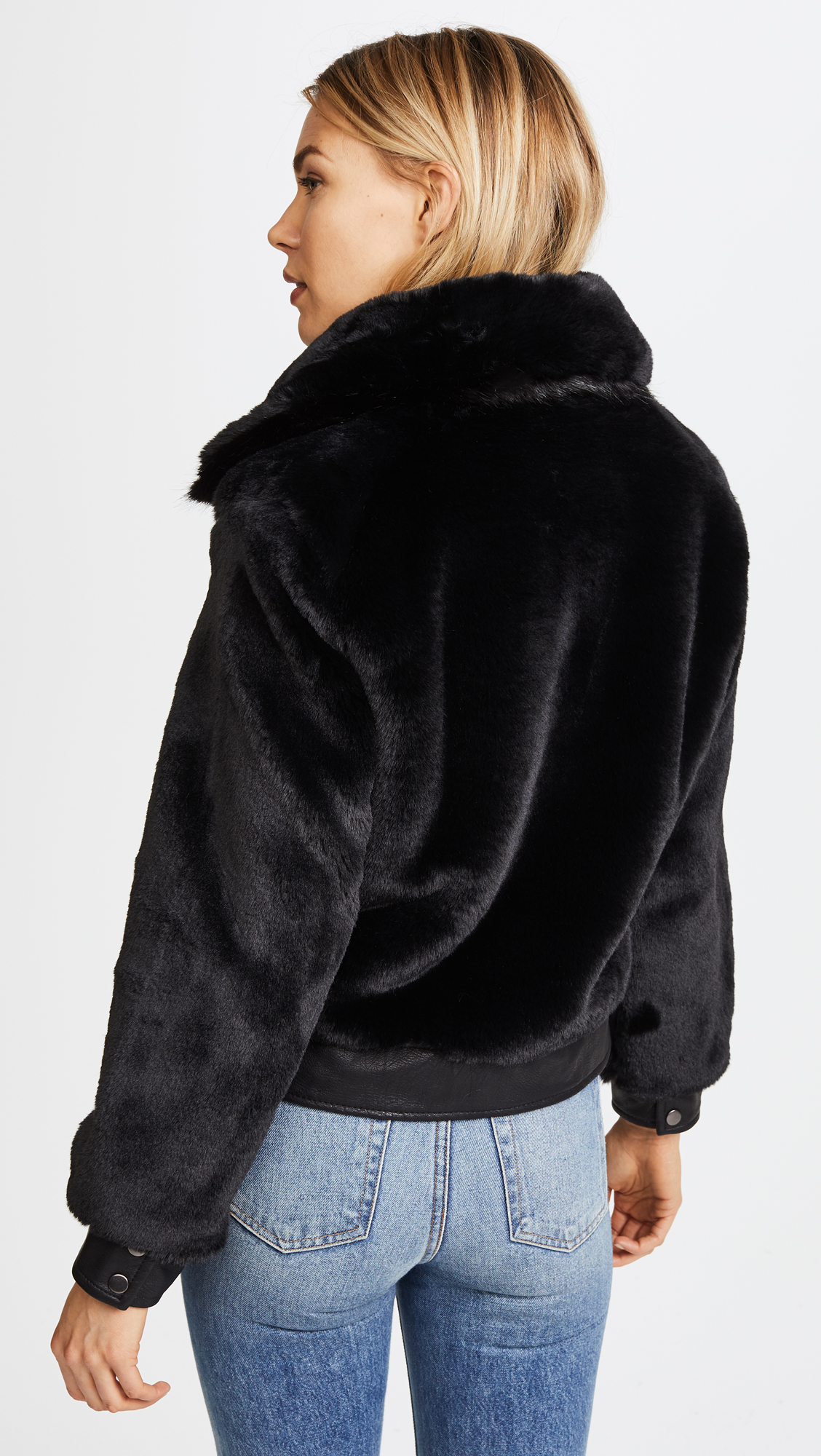 3bed510d7c9 Blank Denim Black Noise Coat | SHOPBOP
