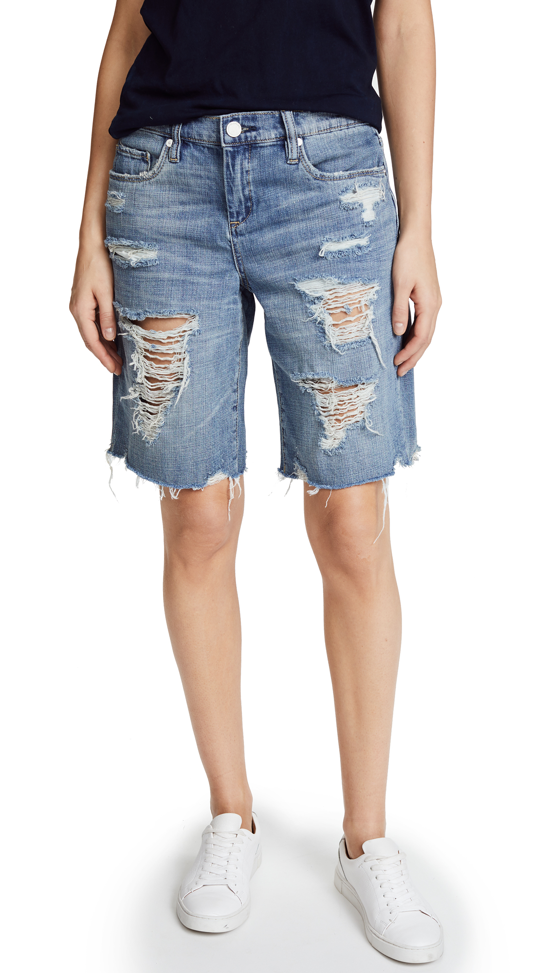 Blank Denim Wild Child Shorts In Wild Child