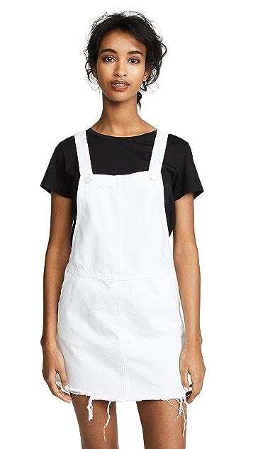 Blank Denim Overall Mini Dress