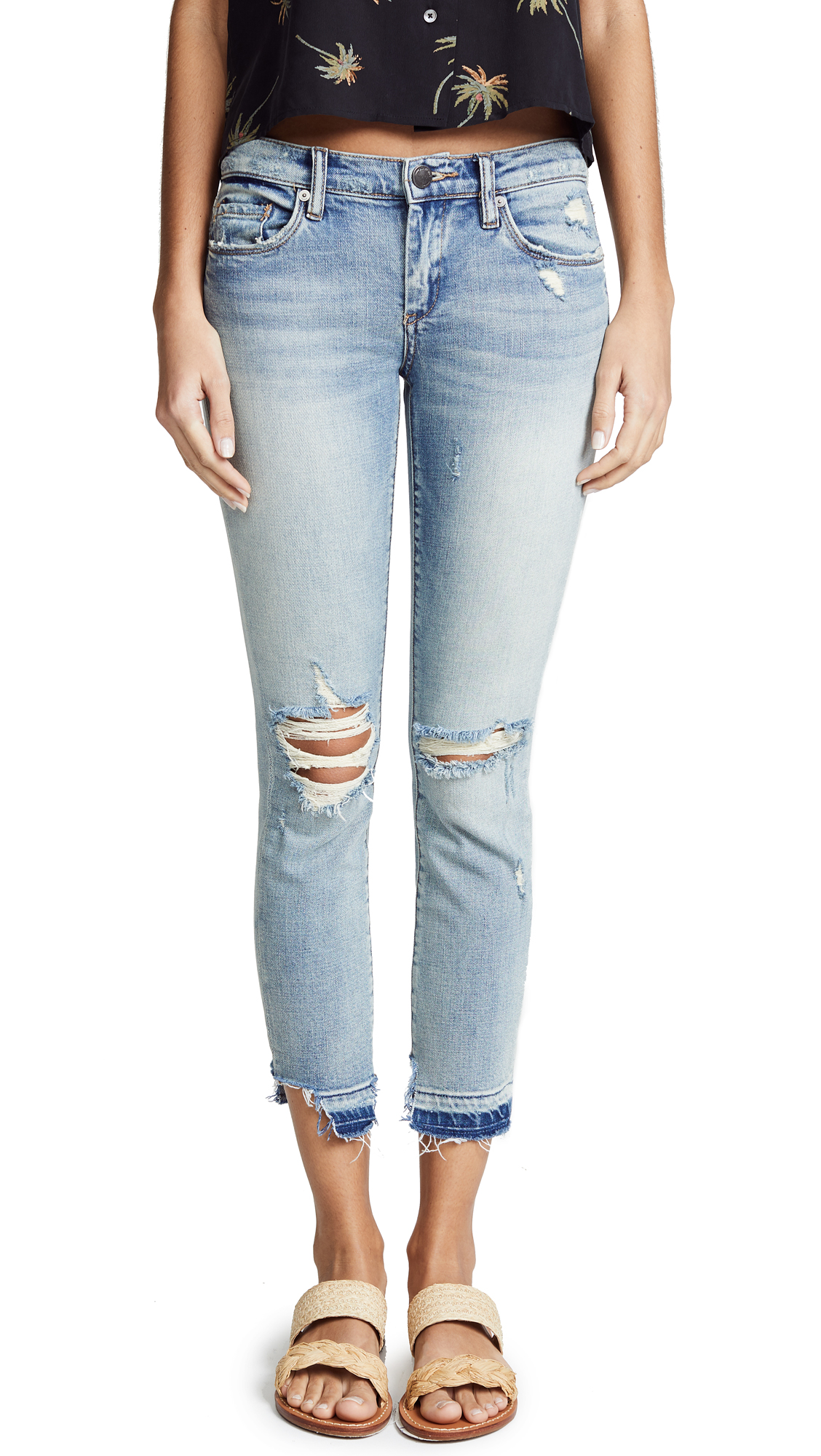 Blank Denim The Reade Skinny Jeans In Good Call