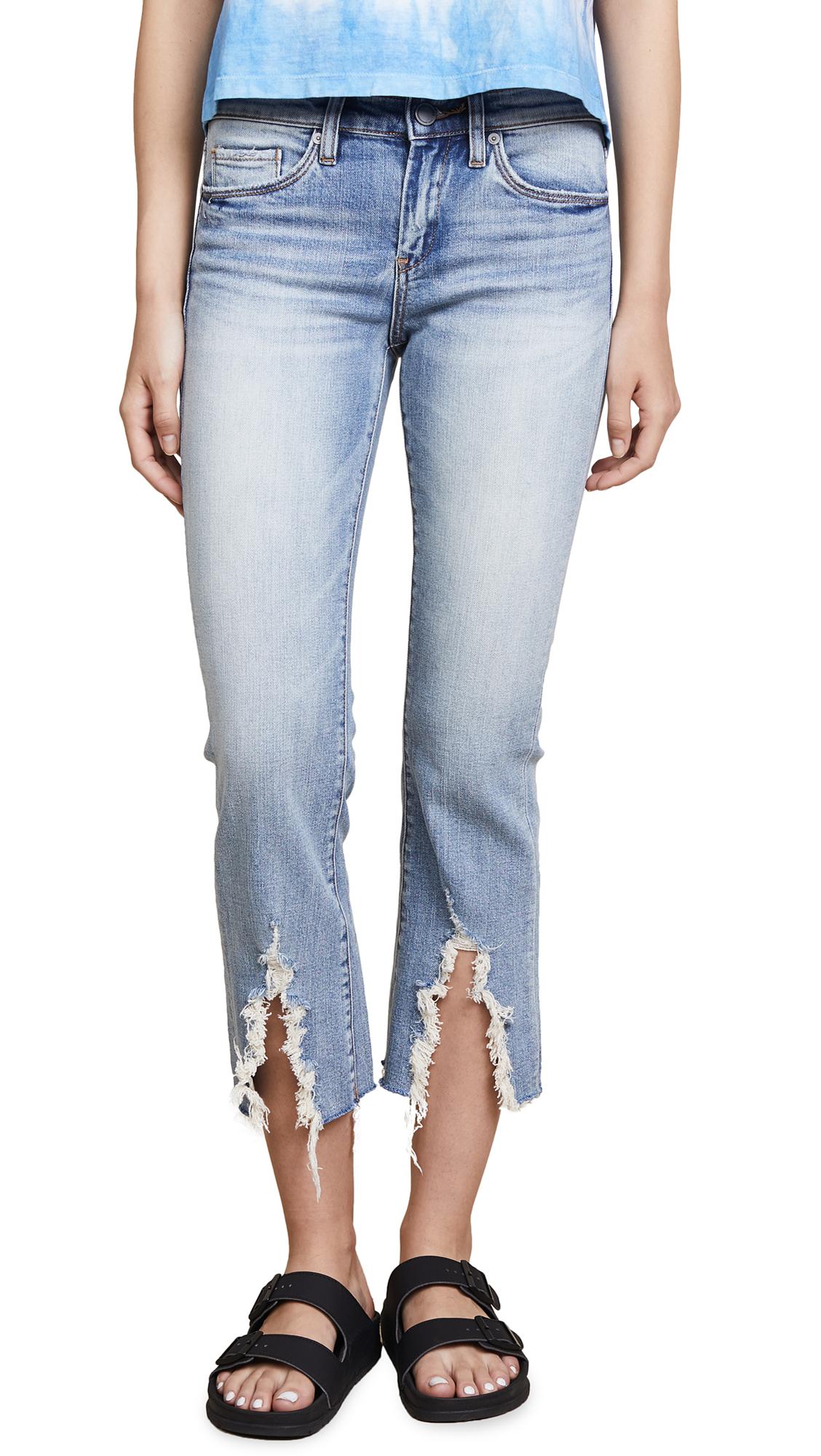 Blank Denim The Varick Cropped Flare Jeans