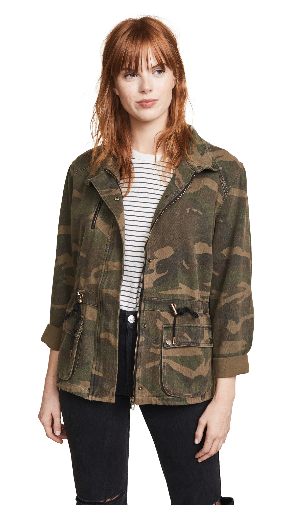 BLANK DENIM Brigade Jacket in Army