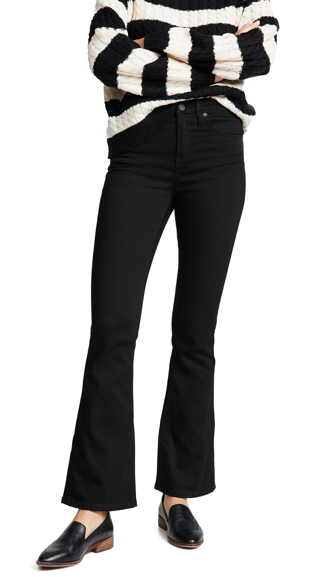 Buy Blank Denim online - photo of Blank Denim The Waverly High Rise Flare Jeans