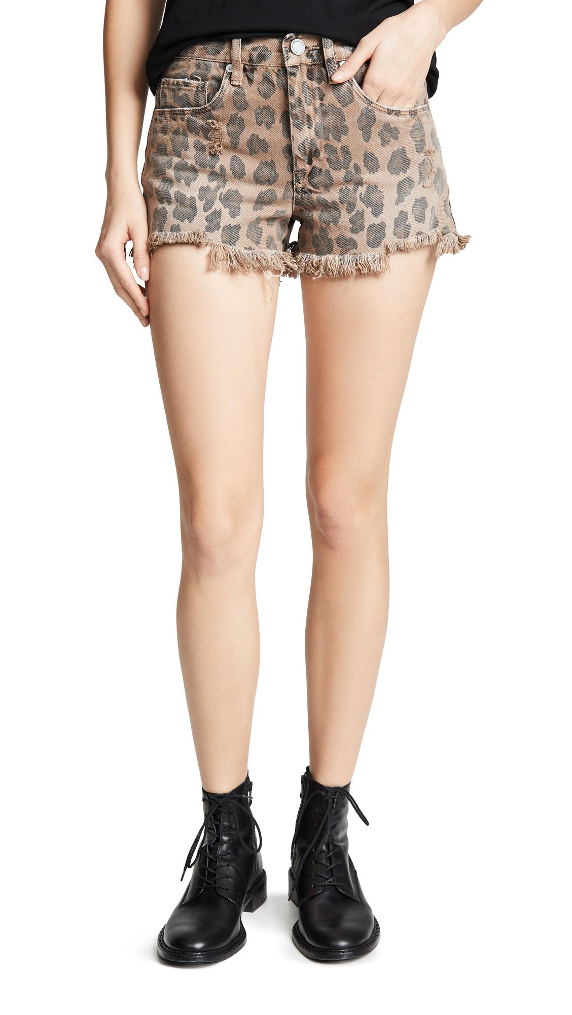 BLANK DENIM | Blank Denim Cutoff Shorts | Goxip