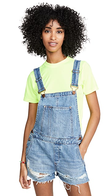 Photo of  Blank Denim Double Agent Overalls- shop Blank Denim Clothing, Jumpsuits online sales