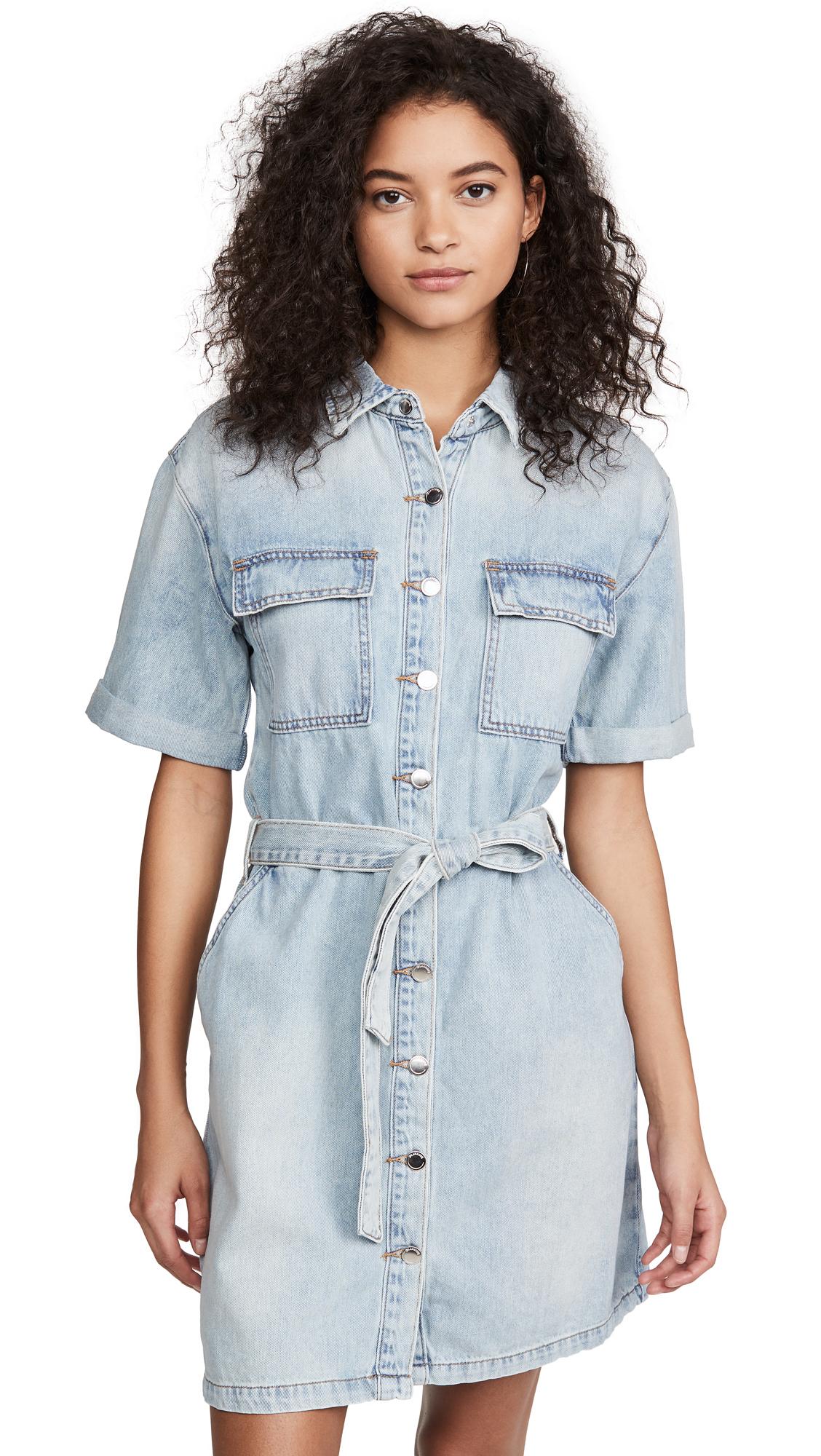 Blank Denim Carribean Blue Dress