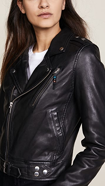 BLK DNM Leather Jacket 1