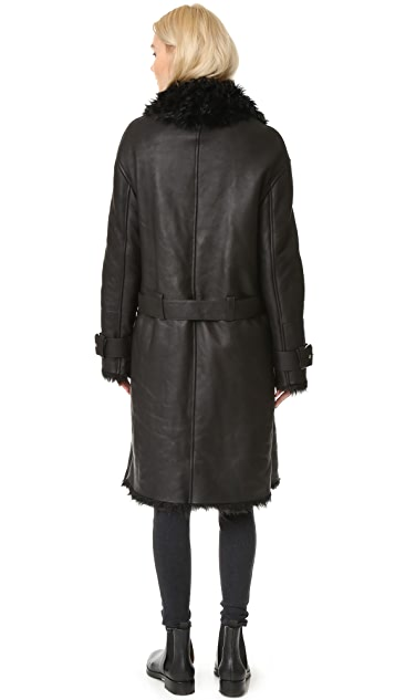 BLK DNM Leather Coat 21