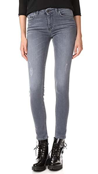 Jean 22 Mid Rise Skinny Jeans