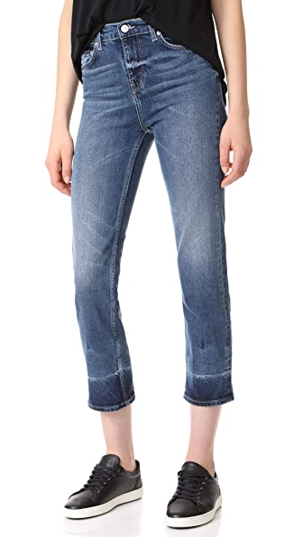 BLK DNM Jean 34 High Rise Jeans In Butler Blue