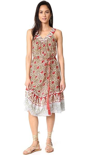 Bell Midi Beach Dress