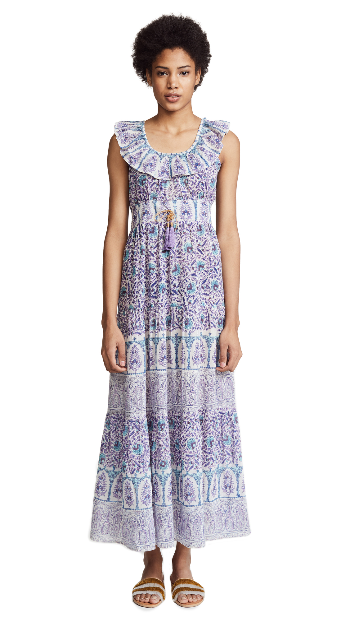 Bell Printed Maxi Dress