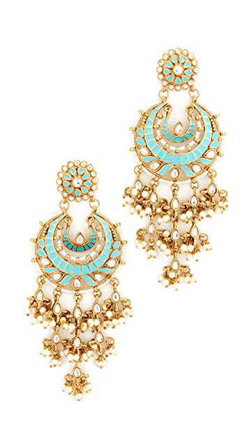 Blossom Box Ornate Chandelier Earring