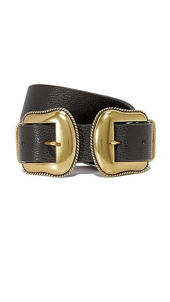 B-Low The Belt Rouge Belt - Black/Brass