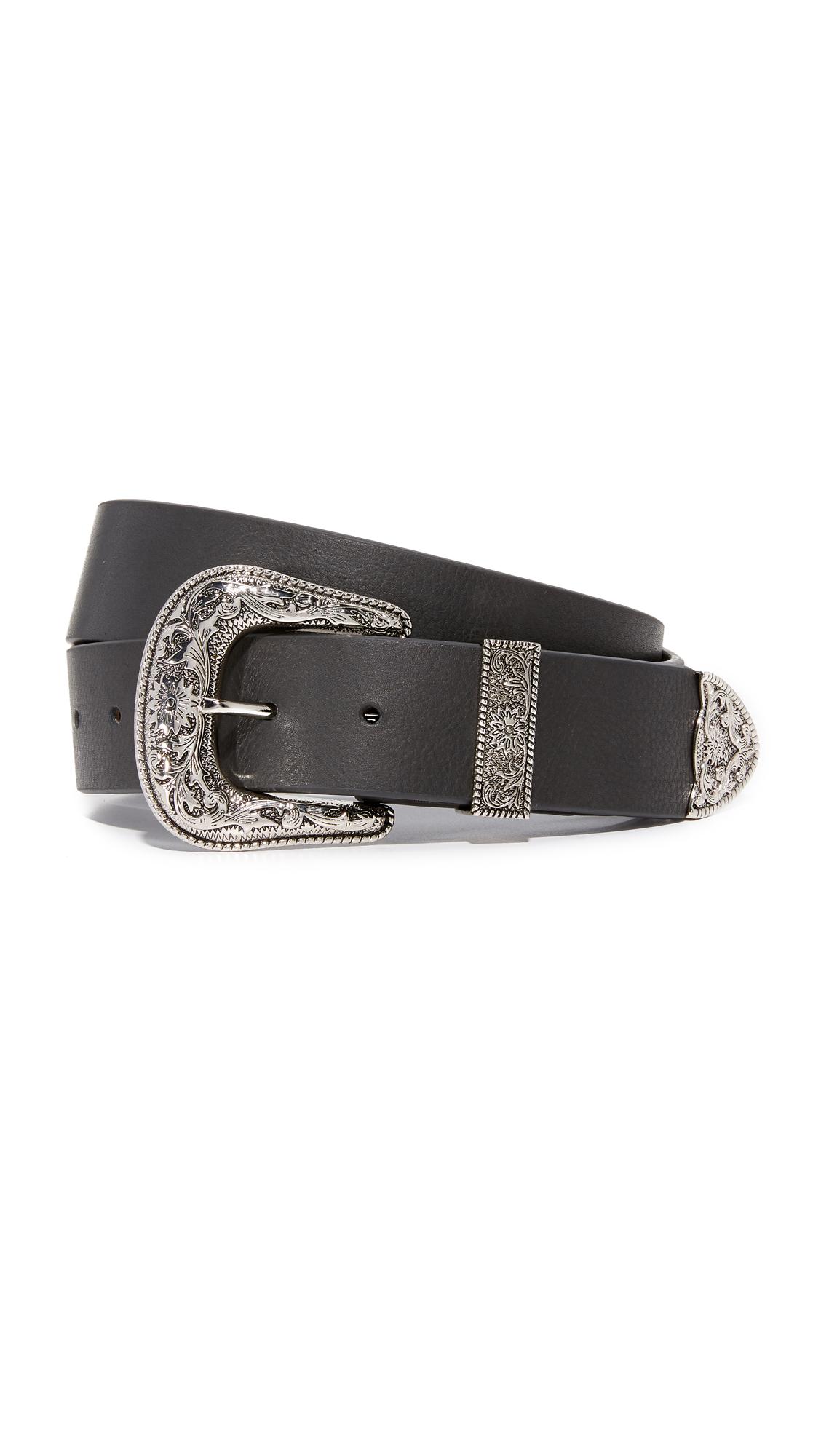 B-Low The Belt Frank Belt - Black/Silver