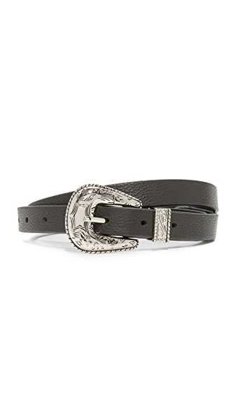 B-Low The Belt Baby Frank Belt - Black/Silver