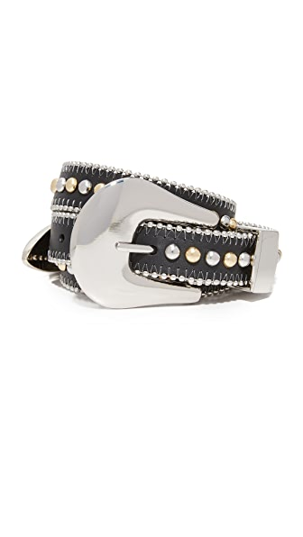 B-Low The Belt Barcelona Belt - Black/Silver