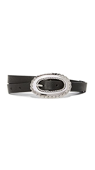B-Low The Belt Napa Belt - Black/Silver