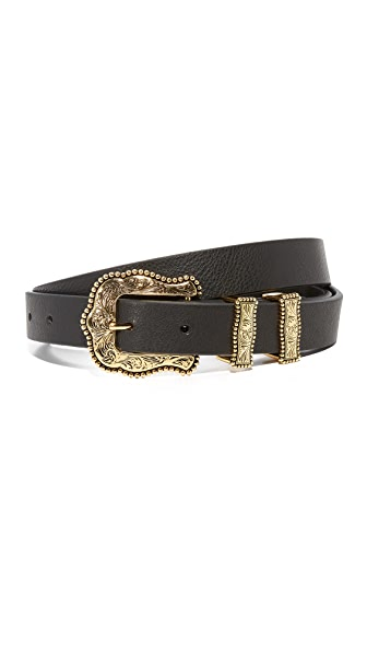 B-Low The Belt Baby Dakota Belt - Black/Gold