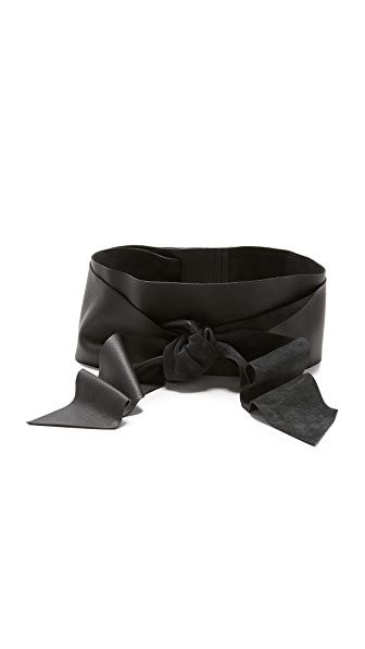B-Low The Belt Demi Wrap Wide Belt - Black