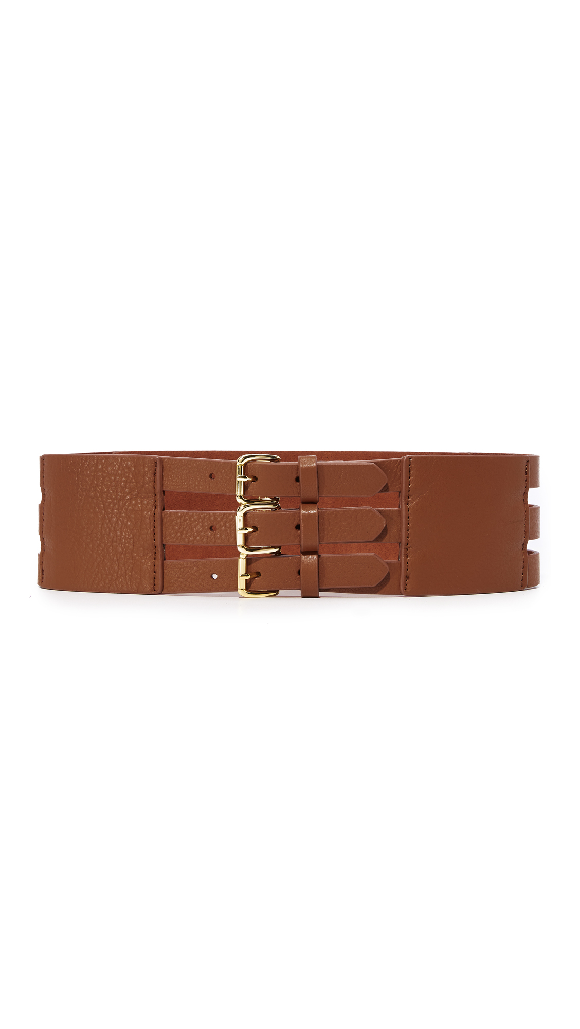 B-Low The Belt Scarlett Corset Belt - Brandy/Gold