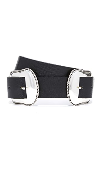 B-Low The Belt Rouge Belt - Black/Silver
