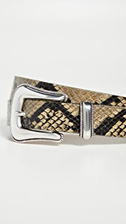 B-Low The Belt Wylder Python Belt