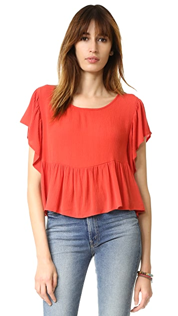Blue Life Amour Top