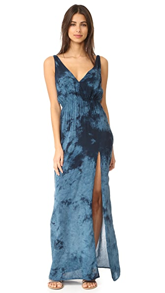 Blue Life High Tide Maxi Dress - Mediterranean
