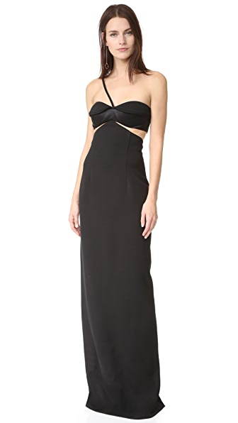 Brandon Maxwell Bustier Gown