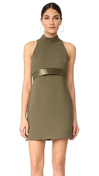 Brandon Maxwell Mod Mini Dress